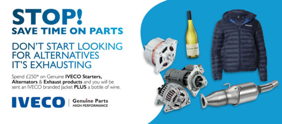 STOP OFFER – Save time on parts