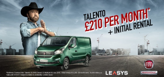 Fiat Talento from £210 a month