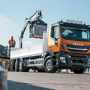 The Stralis X-WAY is built to carry big payloads