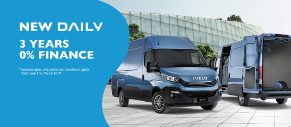 IVECO Daily 0% Finance