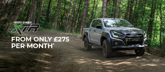 THE ISUZU D-MAX XTR FROM ONLY £275 PER MONTH*
