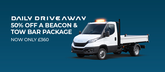 IVECO – DAILY DRIVEAWAY BEACON & TOW BAR