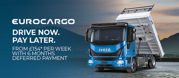 IVECO – EUROCARGO DRIVE NOW PAY LATER