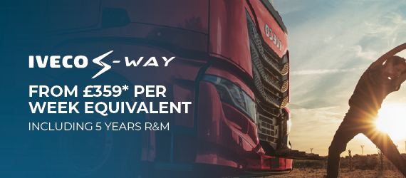 IVECO – S-WAY OPERATING LEASE FROM £359 PER WEEK